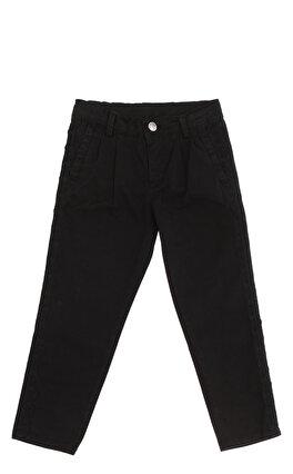 Pinko İşleme Detaylı Siyah Kız Çocuk Pantolon