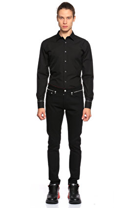 Alexander Mcqueen Siyah Gömlek