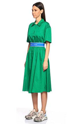 Sandro Yeşil Elbise