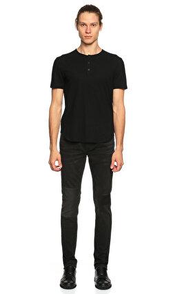 John Varvatos Siyah T-Shirt