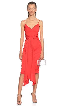 Misha Diz Altı Kırmızı Elbise