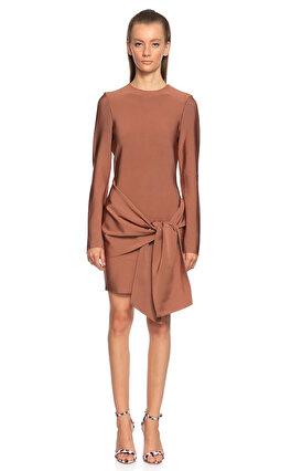 Misha Mini Kahverengi Elbise