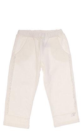 Miss Blumarine Kız Bebek Beyaz Pantolon
