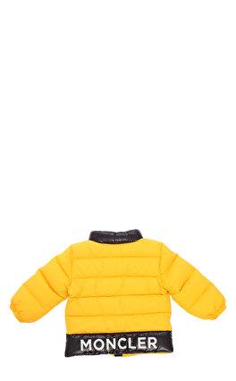 Moncler Erkek Bebek Sarı Mont