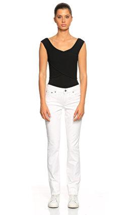 Ralph Lauren Black Label Beyaz Jean Pantolon