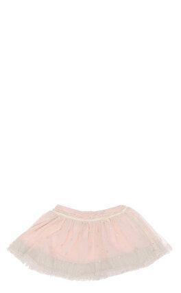 Miss Blumarine Kız Bebek Tül Detaylı Pudra Etek