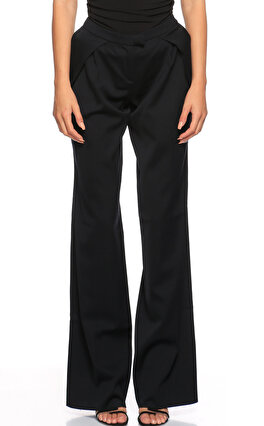 GF Ferre Geniş Kesim Siyah Pantolon