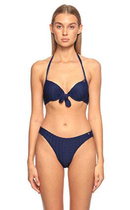Superdry Lacivert Bikini Üstü