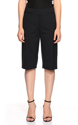 Karen Millen Çizgili Lacivert Pantolon