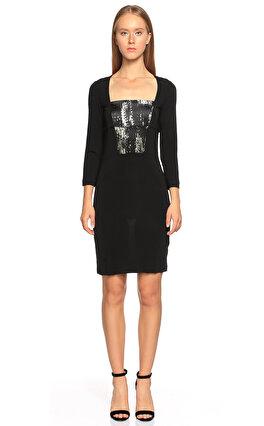 Just Cavalli Siyah Elbise