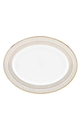 Lenox Gilded Pearl Oval Servis