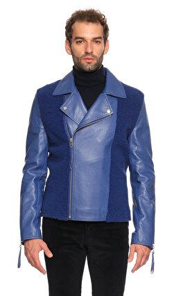 Emre Erdemoğlu Kürk Mavi Ceket