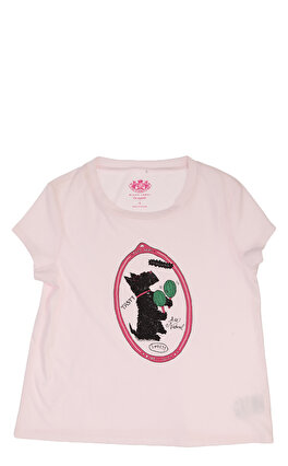 Juicy Couture Baskı Desen Pembe T-Shirt