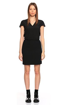 Karl Lagerfeld Mini Siyah Elbise