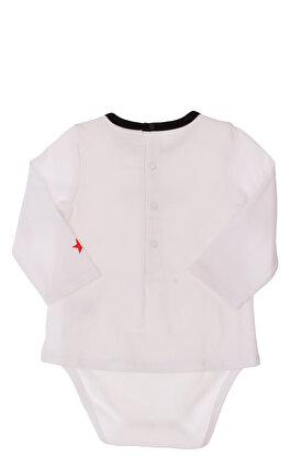 Givenchy Baskılı Çıtçıtlı Kısa Beyaz Tulum