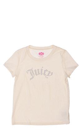 Juicy Couture İşleme Detaylı Krem T-Shirt