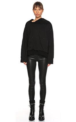 Ümit Ünal Siyah Sweatshirt