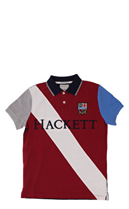 Hackett Bordo Lacivert Polo T-Shirt