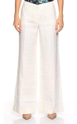 Gerard Darel Keten Geniş Paçalı Beyaz Pantolon