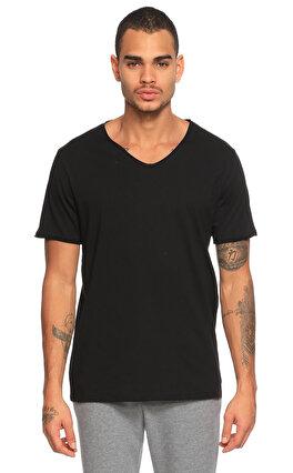 Tru V Yaka Siyah T-Shirt