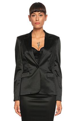 Just Cavalli Etek Ceket Siyah Takım Elbise