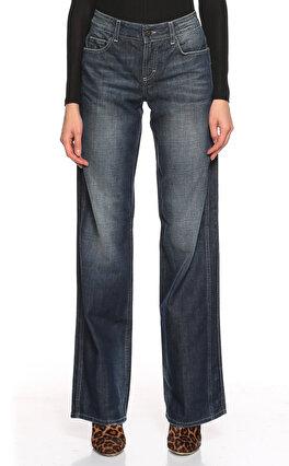 GF Ferre Geniş Kesim Mavi Jean Pantolon