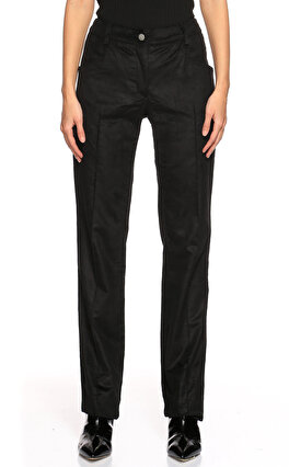 GF Ferre Kadife Siyah Pantolon