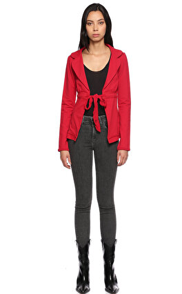 Fornarina Jeans Kırmızı Hırka