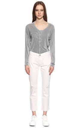 Current Elliot Beyaz Jean Pantolon