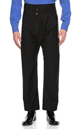 Hatice Gökçe Şalvar Kesim Siyah Pantolon