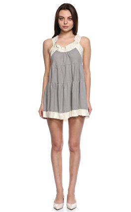 M.Missoni Mini Gri Elbise