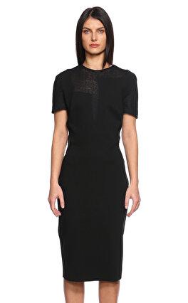Victoria Beckham Diz Altı Siyah Elbise