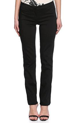 Gianfranco Ferre Paçası Fermuarlı Siyah Pantolon