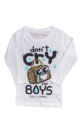 Happiness Kız Çocuk  T-Shirt