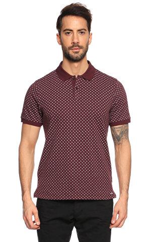 Michael Kors Collection  Bordo Polo T-Shirt