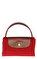 Longchamp Kırmızı Çanta #8