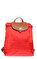Longchamp Kırmızı Sırt Çantası #1