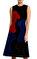 Christopher Kane Kadife kadın Figürlü Siyah Elbise #1