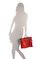 Longchamp Kırmızı Evrak Çantası #5
