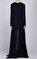 Barbara Bui Lacivert Gece Elbisesi #4