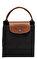 Longchamp Siyah Çanta #10