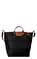 Longchamp Siyah Çanta #2