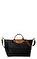 Longchamp Siyah Çanta #5