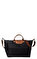 Longchamp Siyah Çanta #7