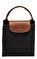 Longchamp Siyah Çanta #8