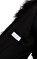Helmut Lang Siyah Kürk Yelek #5