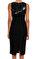 Michael Kors Collection Siyah Elbise #4