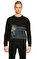 St. Nian Siyah Sweatshirt #1