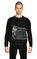 St. Nian Siyah Sweatshirt #3