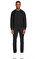 St. Nian Baskı Desen Siyah Sweatshirt #2